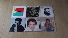 Job lot 6 vinyl records 12 inch country- rock-pop music