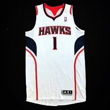 100% Authentic Tracy Mcgrady Adidas Hawks Pro Cut Jersey Size XL 48 - Mesh #