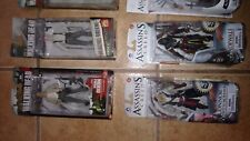 Mcfarlane action figures lot, Assasins Creed and Walking Dead