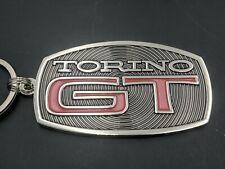 1969 Ford Torino Gt Rear Emblem Inspired Keychain (i12)