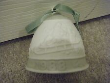 Lladro Porcelain 1988 Christmas Bell – Mib – Must See! Retired!