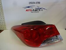 2011-2013 HYUNDAI ELANTRA LEFT DRIVER TAIL LIGHT OEM # 92401-3Y