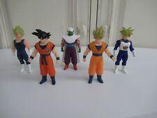 🍓 5 Figurines Dragon Ball Z Bandai 2008 - 10 Cm