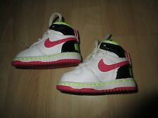Infant Girl's size 2C Nike high top sneakers Great condition*
