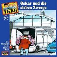 """TKKG """"157/OSKAR UND DIE 7 ZWERGE"""" CD HÖRSPIEL NEUWARE"""