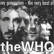 """THE WHO """"MY GENERATION - THE VERY BEST OF"""" CD NEU"""