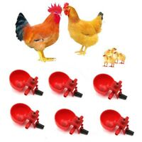 200Pcs Bird Coop Feed Automatic Poultry Water Drinking Cups Chicken Fowl Drinker