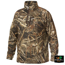 DRAKE WATERFOWL BREATHLITE ¼ ZIP PULLOVER JACKET REALTREE MAX-5 CAMO MEDIUM