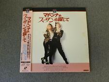 Desperately Seeking Susan - Laser Disc - OBI JAPAN LD Madonna