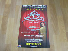 Lionel BLAIR in PAGEANT Musical Comedy Beauty Contest VAUDEVILLE Theatre Poster
