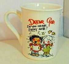 DEAR GOD Series Mug 2008 Dear God, Do You Hear Every Note? Anne Fitzgerald