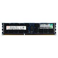 HP Genuine 16GB 2Rx4 PC3-12800R DDR3 1600MHz 1.5V ECC REG RDIMM Memory RAM 1x16G