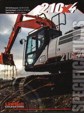 "Link-Belt ""210X4"" Hydraulic Crawler Excavator Brochure Leaflet"