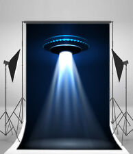 5x7ft UFO Science Fiction Theme Backdrops Photography Backgrounds Studio Props