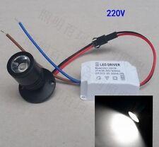 10X LED 1W Mini Spot Lampe Einbaustrahler Minispot Einbauleuchte Spot Einbau