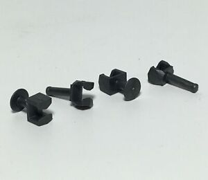 NOS Replacement Guide Pins for Tyco X-Treme Chassis - 2 Sets (2 Front & 2 Rear)