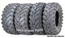 Set of 4 Atv/Utv Tires 25x8-12 Front 25x10-12 Rear 6Pr 10272/273