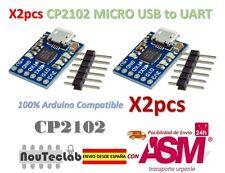 2pcs CJMCU CP2102 MICRO USB to UART TTL Module 6Pin Serial Converter