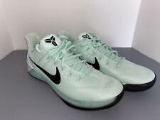 RARE Nike Kobe AD 'Igloo' Mint Green Basketball Shoes 852425-300 Men's Size 14