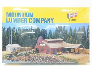 N Scale Walthers #933-3236 Mountain Lumber Company Building Kit - Sealed
