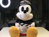Brand New 90th Annivarsaey Disney Mickey Mouse Director Plush Limited Rare