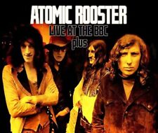 ATOMIC ROOSTER-Live At The BBC & German TV 2 CD + DVD NUOVO