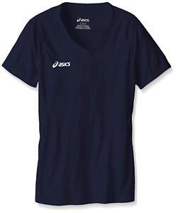 ASICS unisex-child Jr. Set Jersey, Navy, XL