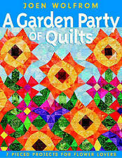 A Garden Party of Quilts: 7 Pieced Projects for Flower Lovers quilting Book