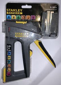 Brand New Stanley FMHT0-70868 TR75 6 In 1 Heavy Duty Stapler