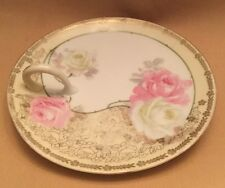 R.S. Prussia Germany signed handled Bon-Bon dish