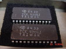 2 Nos Ti's Tcx(M)4204J Prog.Subscriber Line Control Circuit 24-Pin Cdip Sctd001