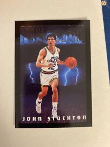 Card John Stockton SkyBox Premium '93-94 Serie II #338
