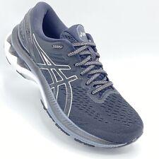 Asics Gel-Kayano 27 WOMEN  SZ8.5 BLACK Silver White  Running Shoes PRE-OWNED.D1