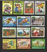 Walt Disney Anguilla 13 timbres neufs  /T3473