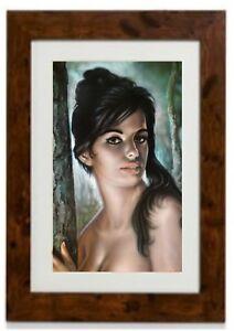 Tina Framed Print By J. H. Lynch