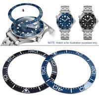 Marine Blue / Black Flat Ceramic Bezel Insert For Sei ko SKX007/009 Watches  `,