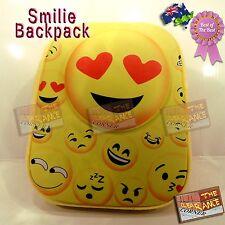 smilie/smiley heart rave backpack festival bag brand new