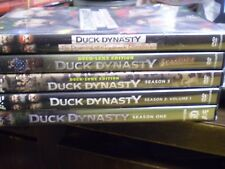(5) Duck Dynasty Season DVD Lot: Seasons 1, 2: Volume 1, 3, 4  Redneck Christmas