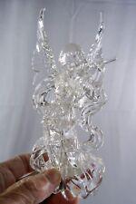 Acrylic Angel Light-Up Christmas Tree Ornament