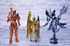 Saint Seiya Myth Cloth Poseidon + Athena + Hades Armor/Armure/Mini Figure SQT07