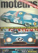 MOTEURS 77 1970 JAGUAR XJ6 4.2 ALPINE A110 1300 G RALLYE INFERNAL REINE WISELL