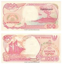 Indonesia 100 Rupiah 1992 (1999) Replacement P-127g Banknotes UNC