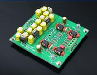 Assembeld MMCF10 Hifi LP phonograph MM amplifier/ RIAA Phono preamplifier board