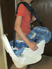 Baby+car+seat+carrier+rare+vintage+STAY+IN+VIEW+1999++Fisher+Price+Mattel+