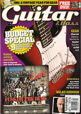 GUITAR & Bass Magazine September 2011 Wilco Johnson Play Like Randy Rhoads + DVD