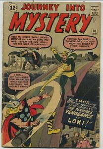 Journey Into Mystery 88 Second Loki First Odin Early Thor