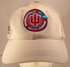2002 NCAA Final Four Indiana University Hoosiers Basketball Strapback Hat Cap