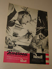 RIVAROSSI MODELLISMO TRENI ELETTRICI=ANNI '50=PUBBLICITA=ADVERTISING=WERBUNG=532