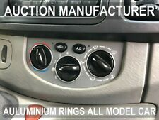 Renault Trafic II  2001-2014  Anneaux De Ventilation Chromes Aluminium x3