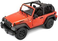 1/18 Burago / Maisto Special Edition 2014 Jeep Wrangler Arancio Met. (31610)